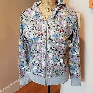 Disney Cruise Line Zipper Sweatshirt New with tag